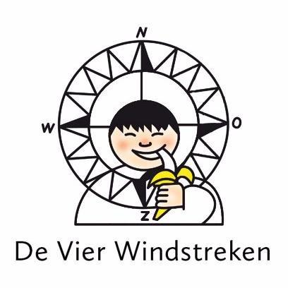 Logo, De Vier Windstreken, uitgeverij, over, informatie