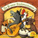 Pixi, Pixi-boekje, De Bremer stadsmuzikanten, Die Bremer Stadtmusikanten, Bremen, ezel, hond, kat, haan, rovers, rovershuis, sprookje, Pixie, Vier, Windstreken