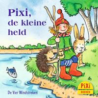 Pixi-boekje, Pixi, de kleine held, Pixi, picknick, held, vos, stelen, redden, dieren, Pixie, Vier, Windstreken