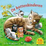 Pixi, Pixi-boekje, De kattenkinderen, kleine katjes, poesjes, spelen, leren, wereld ontdekken, Pixie, Vier, Windstreken
