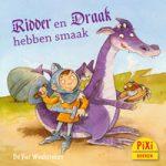 Pixi, Pixi-boekje, Ridder & Draak hebben smaak, Feine Sachen von Ritter & Drachen, ridders, draken, vechten, eer, koken, vriendschap, Pixie, Vier, Windstreken