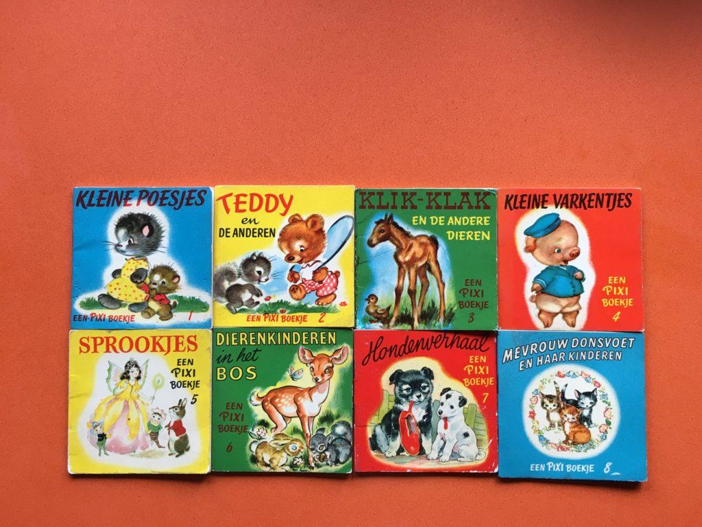 Pixi-boekje, Pixi, Pixi-boekjes, Pixie, oud, old, collector, Dutch, Nederland