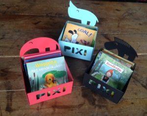 Pixi-boekjes, Pixi, Pixie, Pixi-bakjes, Vier, Windstreken,