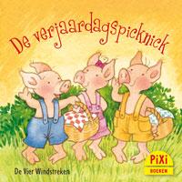 Pixi, Pixie, Pixi-boekje, De verjaardagspicknick, Lente, Pasen, picknicken