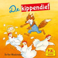 Pixi, Pixie, Pixi-boekje, De kippendief, lente, pasen, dief, eieren