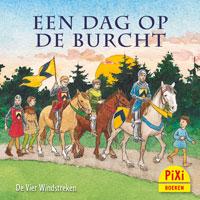 Pixi, Pixie, Pixi-boekje, Een dag op de burcht, kasteel, slot, middeleeuwen, ridders, prinses, schildknaap