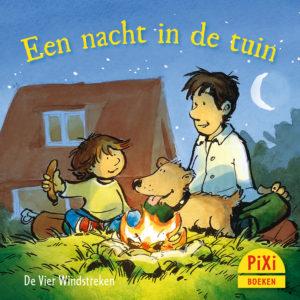 Een, nacht, in, de, tuin, griezelen, vier windstreken, halloween, kinderboekenweek, pixi, pixie, pixy