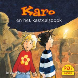 Karo, en, het, kasteelspook,griezelen, vier windstreken, halloween, kinderboekenweek, pixi, pixie, pixy