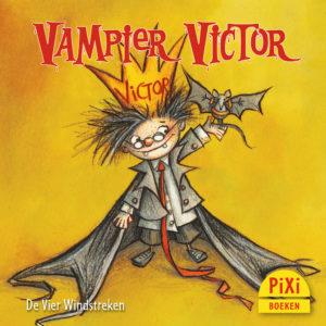 Vampier, Victor, griezelen, vier windstreken, halloween, kinderboekenweek, pixi, pixie, pixy