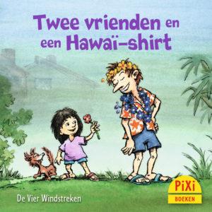 Twee, vrienden, hawai-shirt, pixi, pixie, boekjes, prentenboeken, vier, windstreken