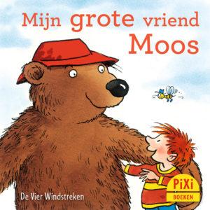 Mijn, grote, vriend, Moos, vriendschap, dier, beer, pixi, pixie, boekjes, prentenboeken, vier, windstreken