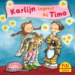 Karlijn, logeert, bij, Timo, pixi, pixie, boekjes, prentenboeken, vier, windstreken