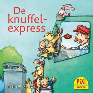 De knuffelexpress, reizen, Pixi, pixie, boekjes, prentenboeken, vier, windstreken
