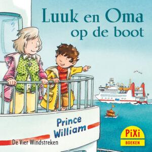 Luuk en Oma op de boot, reizen, Pixi, pixie, boekjes, prentenboeken, vier, windstreken