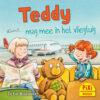 Teddy mag mee met het vliegtuig, reizen, Pixi, pixie, boekjes, prentenboeken, vier, windstreken