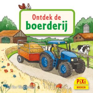 Ontdek de boerderij, pixi, pixie, pixy, de, vier, windstreken