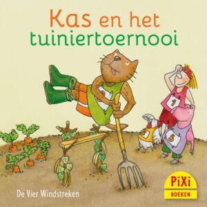 bKas en het tuiniertoernooi, oerderij, Pixi, pixie, boekjes, prentenboeken, vier, windstreken