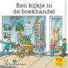 Een kijkje in de boekhandel, beroepen, Pixi, pixie, boekjes, prentenboeken, vier, windstreken