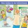 Een kijkje in de bibliotheek, beroepen, Pixi, pixie, boekjes, prentenboeken, vier, windstreken
